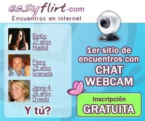 Ligar EasyFlirt contactos y encuentros con chat y webcam en Internet